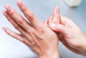 masaža prsta